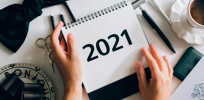 Calendario fiscal 2021 para autónomos.