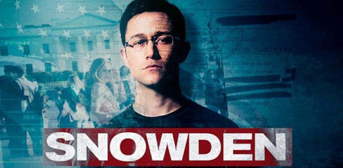 Cine relacionado con la economía: película Snowden.